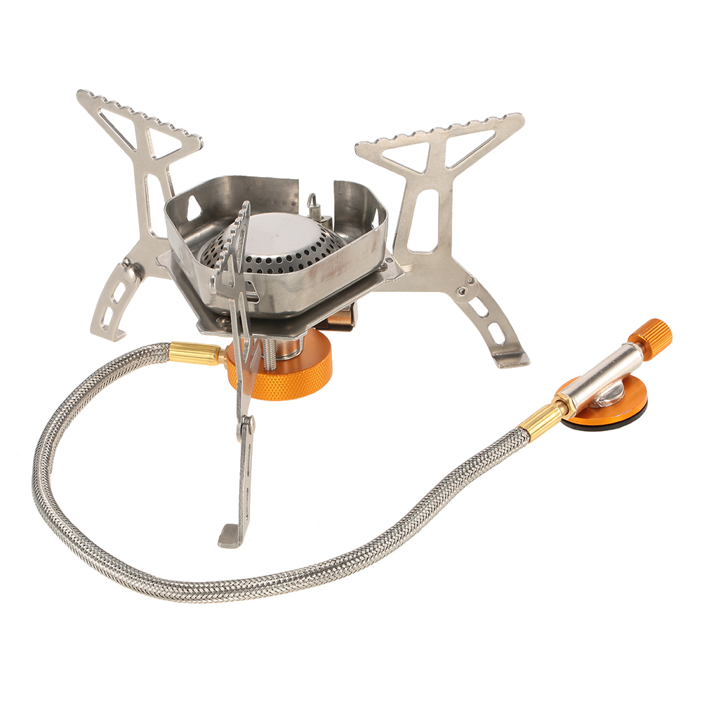 BOX 3500W Portable Outdoor Camping Hiking Gas Stove Folding Cooking Burner