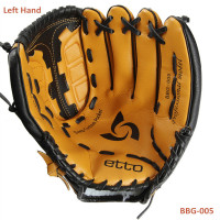 Etto BBG 005 General Baseball Glove Softball Glove Size 11.5/12.5Left Hand for Adult Man Woman Training