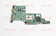 цены на motherboard for hp dv6 dv6-3000 laptop motherboard 603644-001 ddr3 da0lx6mb6f2 Free Shipping 100% test ok  в интернет-магазинах