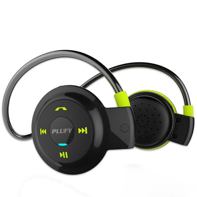 Nueva Sport Auriculares Bluetooth Auricular Estéreo Auriculares Con Función de Reproductor de Mp3 Inalámbrico de Manos Libres de Auriculares Para El Teléfono