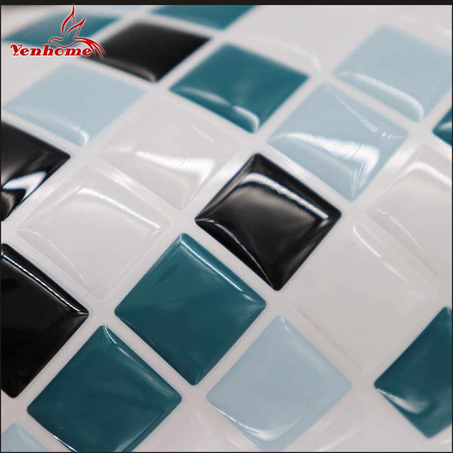 3D Peel and Stick Backsplash Removable Self Adhesive Mosaic Stone ...
