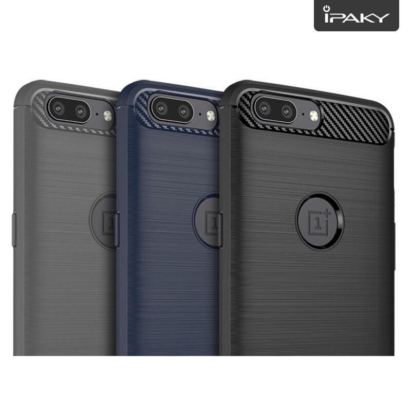 για OnePlus 5 Case Original IPAKY Silicone Carbon Fiber Hybrid - Ανταλλακτικά και αξεσουάρ κινητών τηλεφώνων - Φωτογραφία 5
