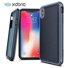 X doria caso de telefone para iphone xr xs max defesa ultra militar grau testado caso capa para iphone xs max capa de alumínio
