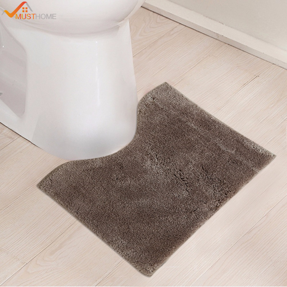 45x50cm Bathroom Toilet Mats Microfiber Non Slip Rug For