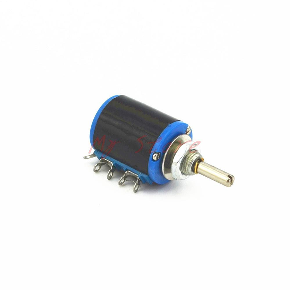 WXD3-12 2W 100R ohm Rotary Multi-turn Wirewound Precision Potentiometer