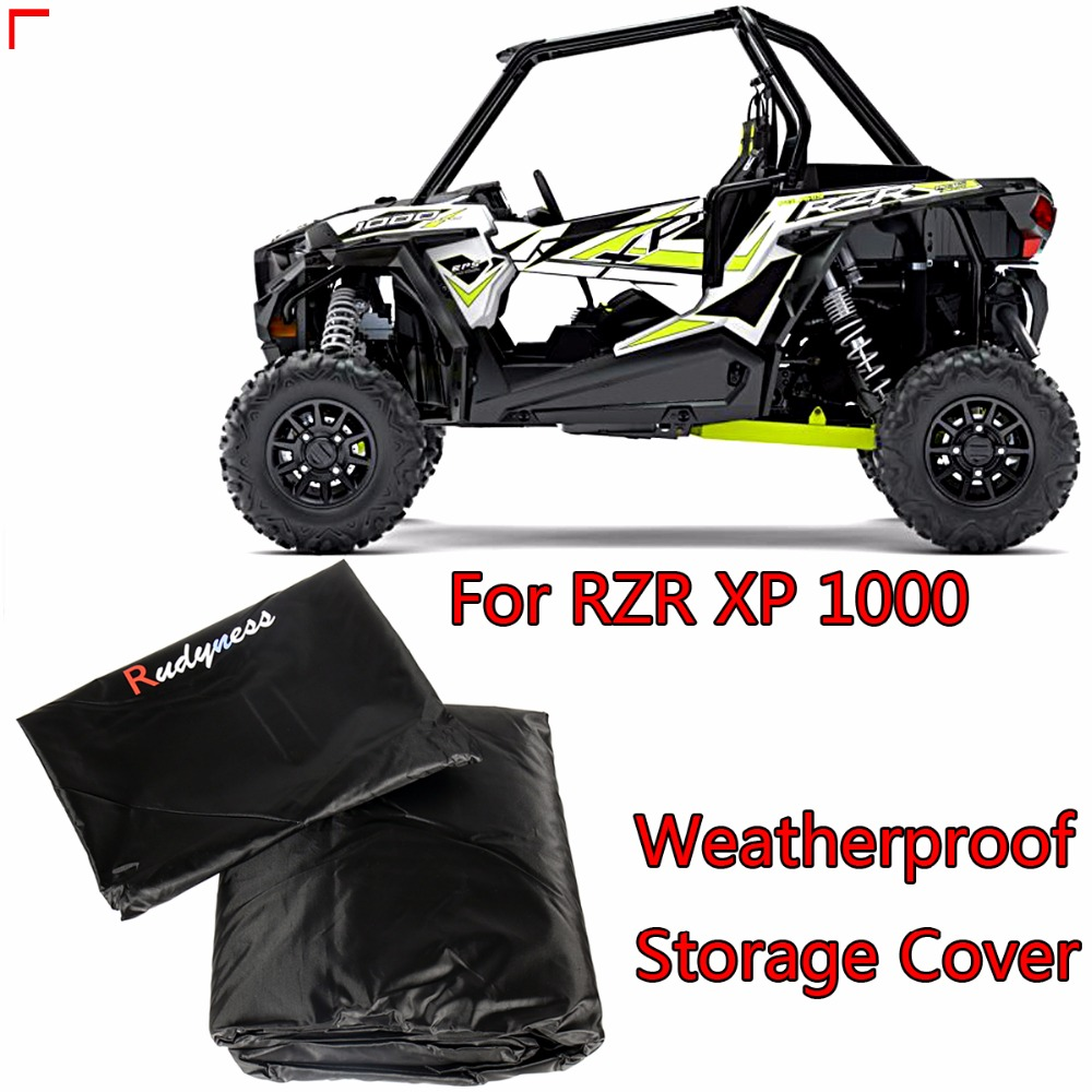 US $69 99 |Universal Weatherproof Storage Cover For Polaris RZR XP 1000 EPS  XP Turb&Two Seat UTV Models-in Covers & Ornamental Mouldings from