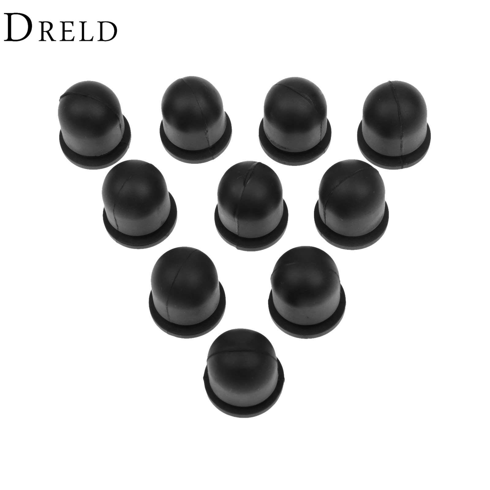 DRELD 10Pcs Carburetor Primer Bulb Button For Kawasaki TD18 TD24 TG33 Grass Trimmer Parts For STIHL 4112-358-2500 Garden Tools