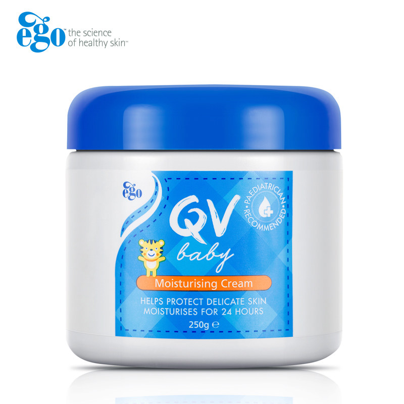 Australia QV Baby Skin Care Moisturizing Bath Cream Hand Foot Lotions Long Lasting Relieve Dry Areas Eczema Dermatitis Psoriasis image