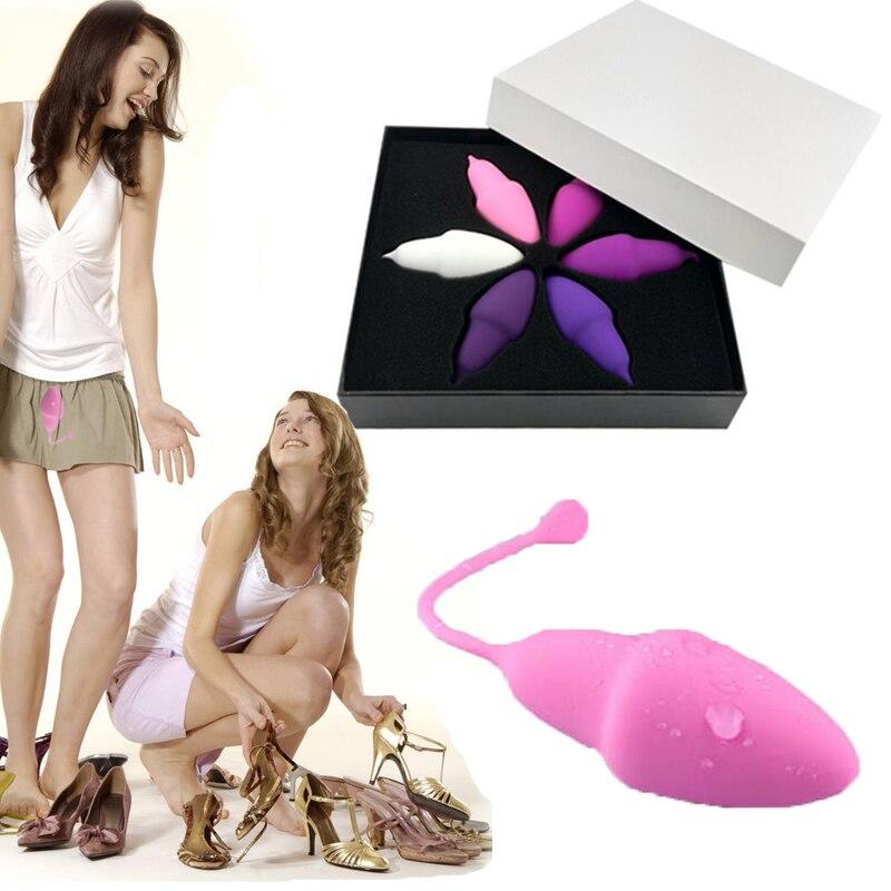 6 pcs Set Exercícios de Kegel Vaginal Bolas Chinesas Sexo Brinquedos Para As Mulheres Peso Diferente Bola Gueixa Íntimo Treinador Da Vagina Sexo bens