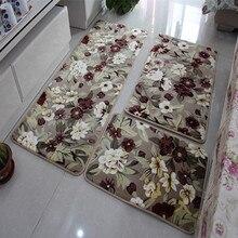 3 pcs Bathroom Mat Set,Anti-slip Bath Rug Stone Carpets,Cartoon Mats and Toilet,Tapis Salle de Bain,Carpet in the