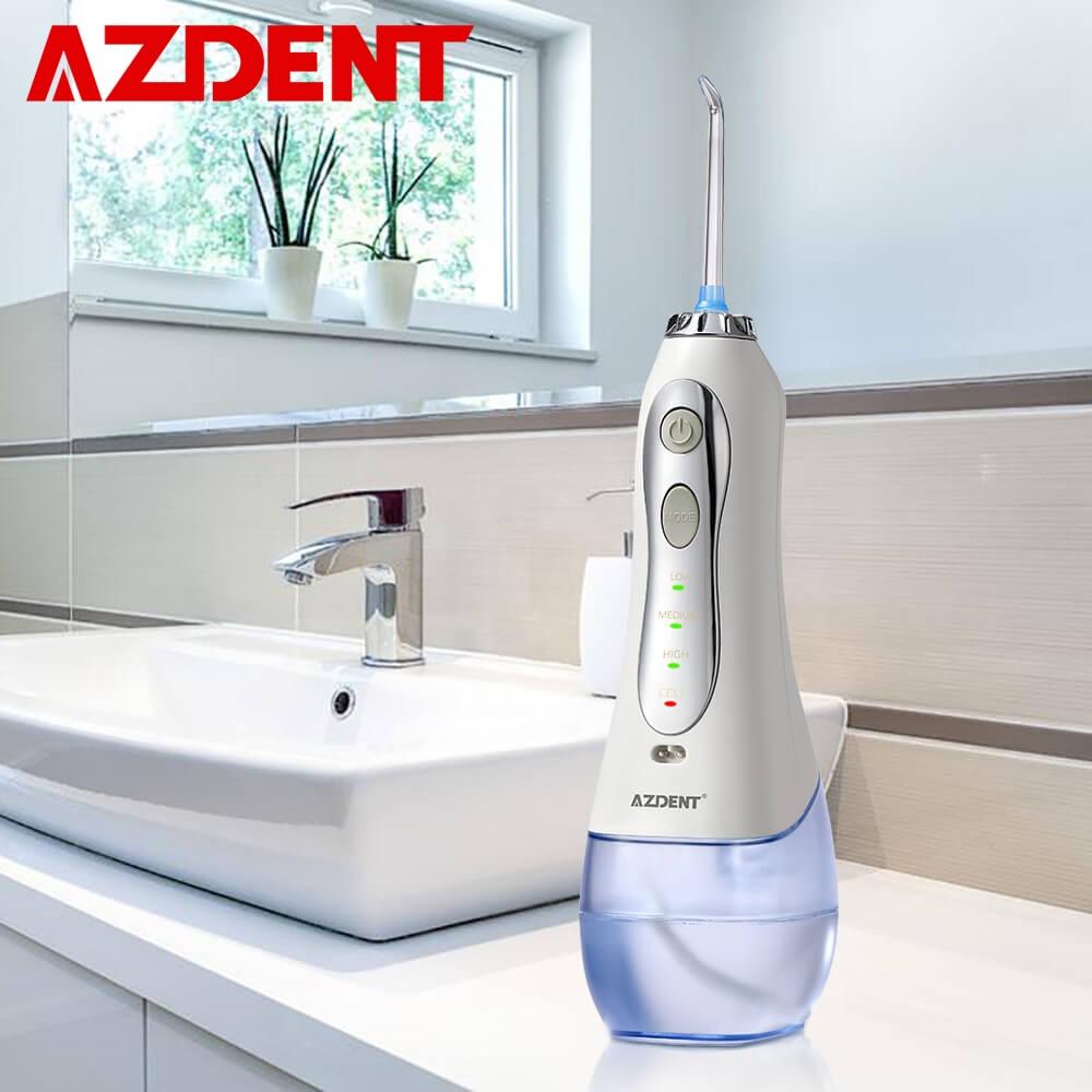 Nouveau 3 Modes sans fil Oral irrigateur Portable eau dentaire Flosser USB Rechargeable Jet d'eau fil dentaire choix 5 conseils de Jet 300ml