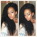 New Curly Wig 7a Unprocessed Virgin Human Hair Wig Kinky Curly Lace Front Wigs Brazilian Virgin Hair Curly Lace Wig Glueless Cap