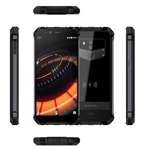 "Image 5 - Oukitel Wp1 Ip68 étanche 4gb 64gb 5000mah Mtk6763 Octa Core 5.5 ""Hd + 18:9 affichage sans fil charge Smartphone Tri preuve"