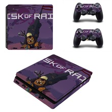 Risk of Rain PS4 Slim Skin Sticker Decal for PlayStation 4 Console and Controller PS4 Slim Sticker Skins Vinyl