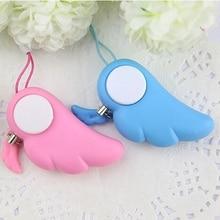 Self Defence Keychain Alarm Personal Protection Women Security  Alarm 90dB Loud Self Defense Supplies Emergency Alarm