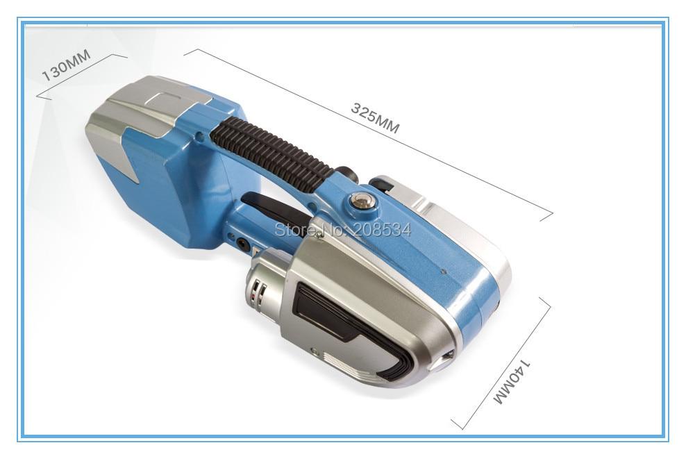 JD16 Batteria Reggiatrice per reggia in plastica PET PP, Reggiatrice - Set di attrezzi - Fotografia 3