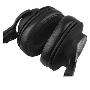 Image 3 - استبدال الأغنام جلد رغوة بطانة للأذن وسائد الصوت وتكنيكا ATH MSR7 ATH M50x لسوني MDR 7506 MDR V6 9.17