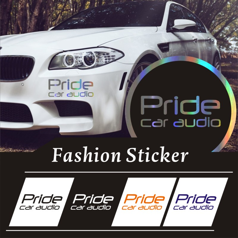 Car Stickers3D Reflective Waterproof Custom Sticker 9.6*24.5cm pieces car sticker pride car audio funny car stickers auto decals