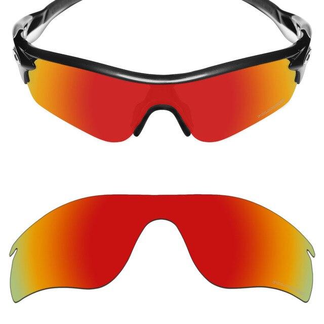 Mryok + POLARIZADA Lentes de Reposição para óculos Oakley Radarlock caminho Óculos  De Sol Fogo Resistir fe5d2b904a
