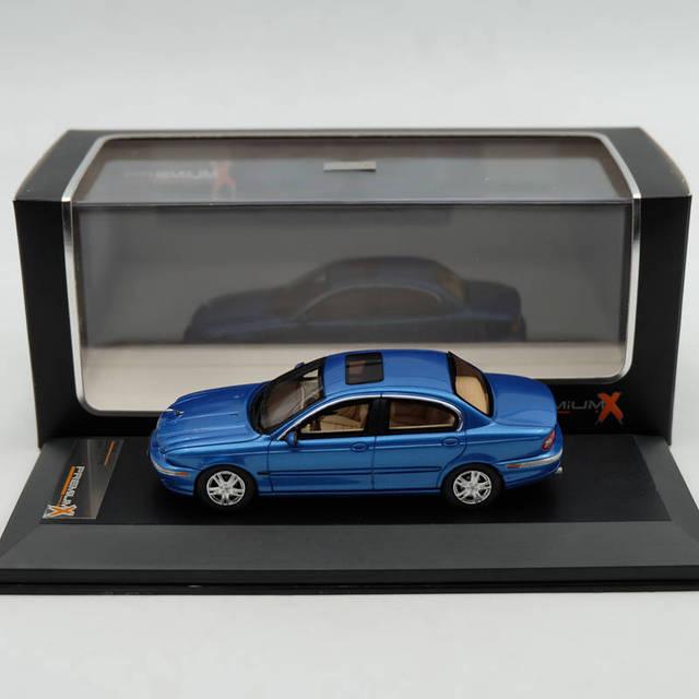Premium X 1:43 JAGUAR X Type Luz Azul 2004 PR0193 Resina Modelos De Carro