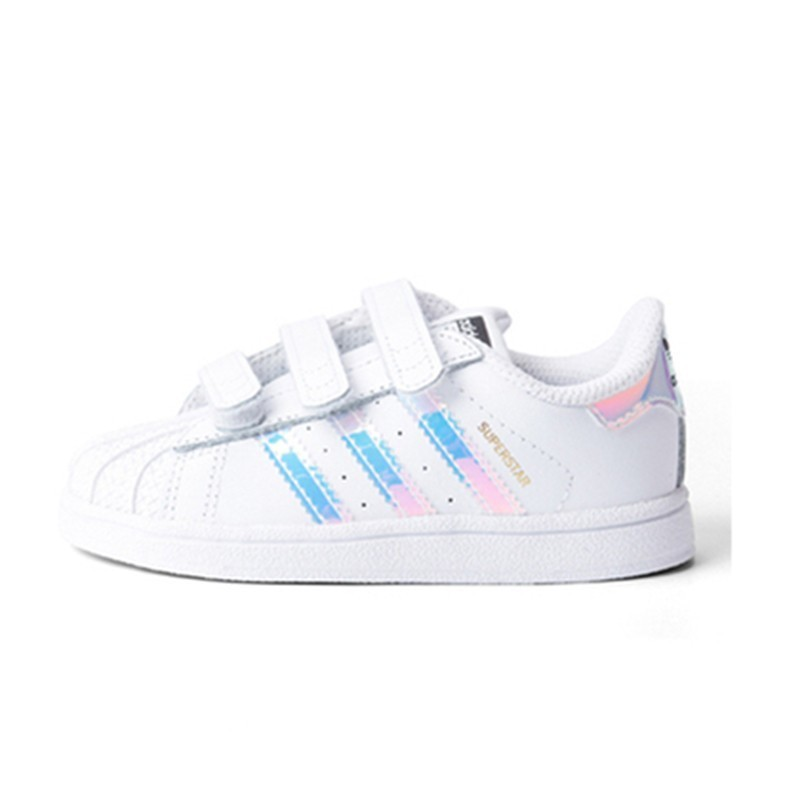 new product 70ff8 82a0f US $27.03 83% OFF|Adidas Superstar Kids Original Children's Skateboarding  Shoes Anti Slippery Sports Sneakers #AQ6280(Fits smaller than usual)-in ...