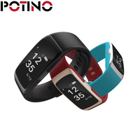 POTINO Smart Bracelet S68 Oled Screen Display Blood Pressure Detection Smart Band Heart Rate Monitor Wristband