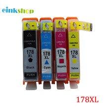 einkshop Brand for hp 178 178xl Compatible Ink Cartridges Suitable For hp DeskJet 3070A 4610 4620 Photosmart 5510 5520 6520