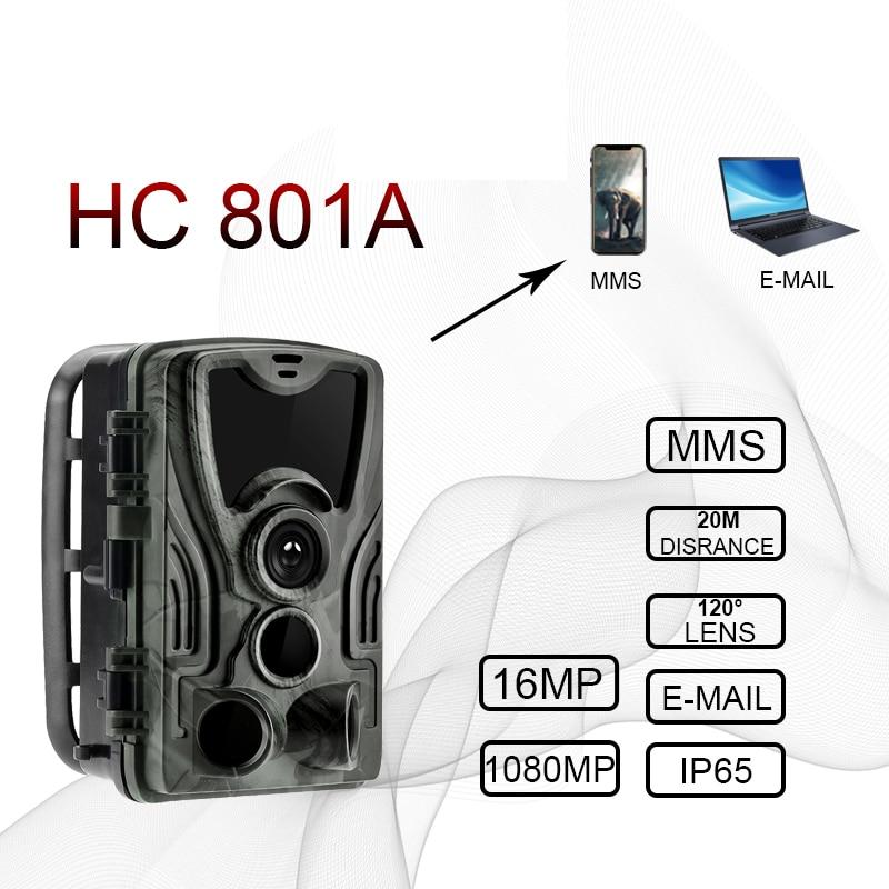 hc801a HC801M HC-801G 4G deer Hunting Camera 16MP Trail Camera Night Version MMS Photo Traps hunter gsm Wild Camera Chasse