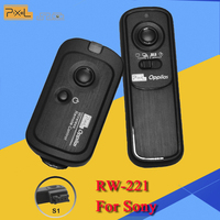 Pixel RW-221/S1 RW-221 Oppilas Wireless Shutter Remote Control Release For Sony Alpha a57 a900 a550 a580 a55 a100 a200 a300 a350