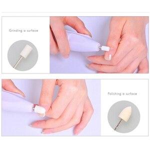 Image 4 - Ensemble de vernis à ongles électrique Portable pratique, outil de polissage des ongles, outil personnel de manucure et pédicure