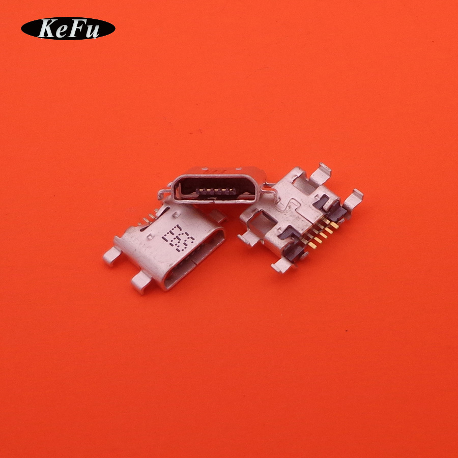 100pcs original new charging port micro usb connector jack socket dock plug replacement for LENOVO A8-50 A5500H A5500 8 TABLET