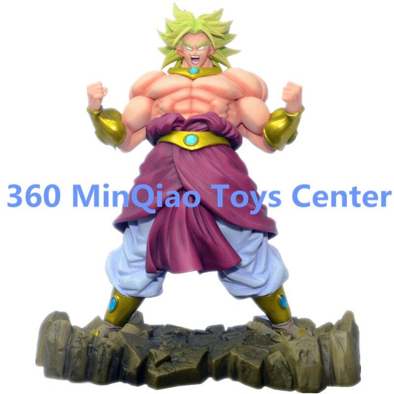 ФОТО Dragon Ball KAI Tenkaichi Budokai Super Saiyan Broly PVC Action Figure Collectible Model Toy 26cm RETAIL BOX WU930