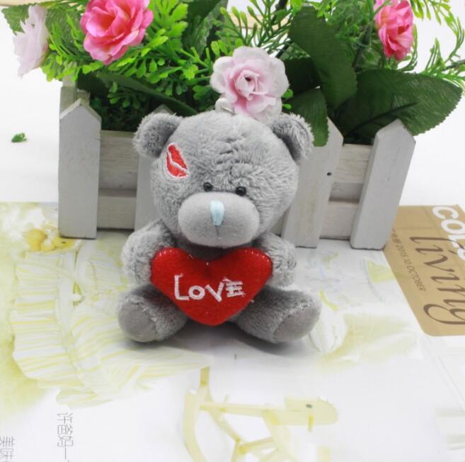 1Pcs/set Cute <font><b>lovely</b></font> exquisite small plush toy <font><b>teddy</b></font> <font><b>bear</b></font>,<font><b>Wedding</b></font> <font><b>Bouquet</b></font>,Promotion Gifts