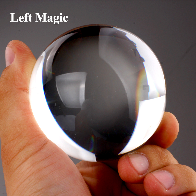 80 Mm Contact Juggling Ball Magic Tricks Crystal Ultra Clear 100% Acrylic Ball Manipulation Juggling Balls For Party Stage Magic