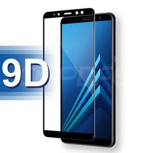 Image 5 - 9D verre de protection sur le pour Samsung Galaxy A3 A5 A7 2016 2017 A6 A8 Plus 2018 S7 étui de protection décran en verre trempé
