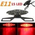 Motorcycle 15 LED Rear Tail Brake Light Stop Running Light Bracket