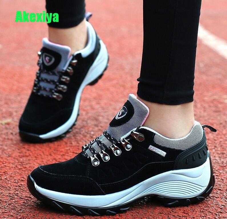 100% Wahr Akexiy Designer Mode Herbst Keile Schuhe Für Frauen Plattform Turnschuhe Womens Casual Weibliche Schwarze Schuhe Frau Schuhe Wayfarer