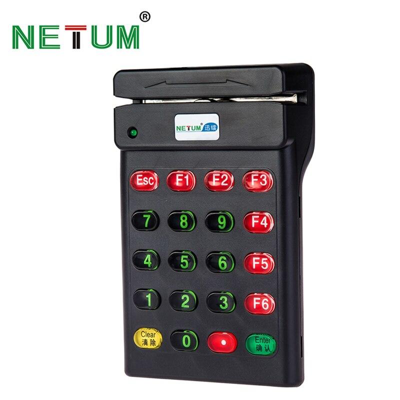 USB Thẻ Từ Reader với Giao Diện USB Thẻ Bàn Phím Đọc POS Reader USB MSR Card Reader plug and play NT-700