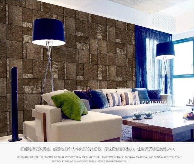 Weichen Feder Tapete Hotel KTV Moderne Simulation Pelz Leder Tapete  Kunstleder Tapeten Wohnzimmer Moderne Einfache