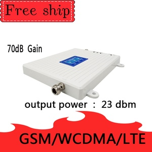 Image 3 - 900/2100/2600MHZ GSM WCDMA LTE 2G 3G 4G Cell Phone Signal Booster  70db Gain 2G 3G 4G LTE 2600mhz Repeater Cell Phone Booster