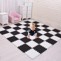 Meiqicool для детей, eva пенопластовый игровой коврик для детей/блокировка плитки для упражнений половик коврик, каждый 29X29 см, напольная плитка