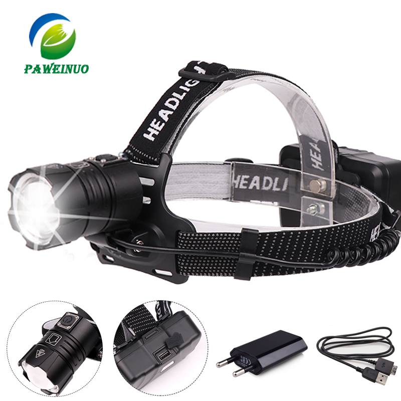 50000lumens High power led headlamp XHP70 XHP50 headlight USB rechargeable 18650 zoom head lamp for hunting fishing mining light50000lumens High power led headlamp XHP70 XHP50 headlight USB rechargeable 18650 zoom head lamp for hunting fishing mining light