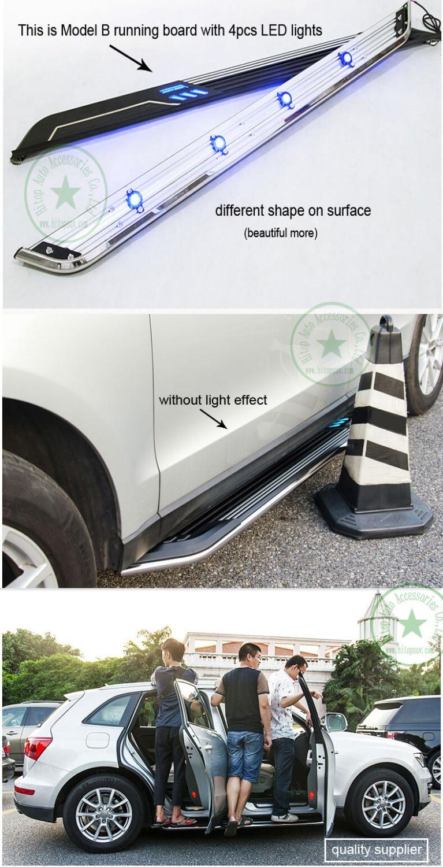 neueste populäre Trittbrettseitenschritt-Seitenstange für Nissan - Autoteile - Foto 4