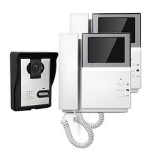 FREE SHIPPING New Handheld 4 3 Color TFT Video font b Door b font phone Doorbell