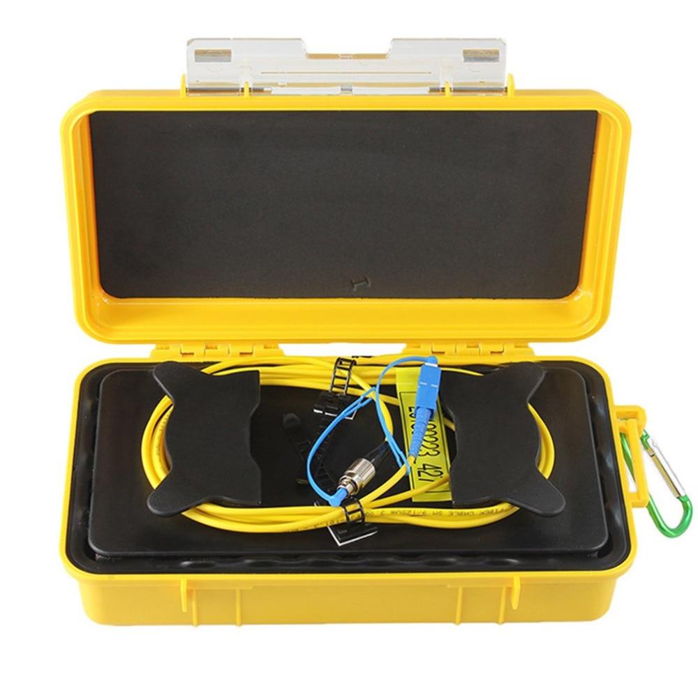 цена на FC-UPC/SC-UPC OTDR Dead Zone Eliminator Fiber Rings Fiber Optic OTDR Launch Cable Box 1km SM 1310/1550nm