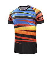 Free Printing Name CHINA Badminton shirt Men/Women , Badminton tshirt , sports tennis shirt 215AB