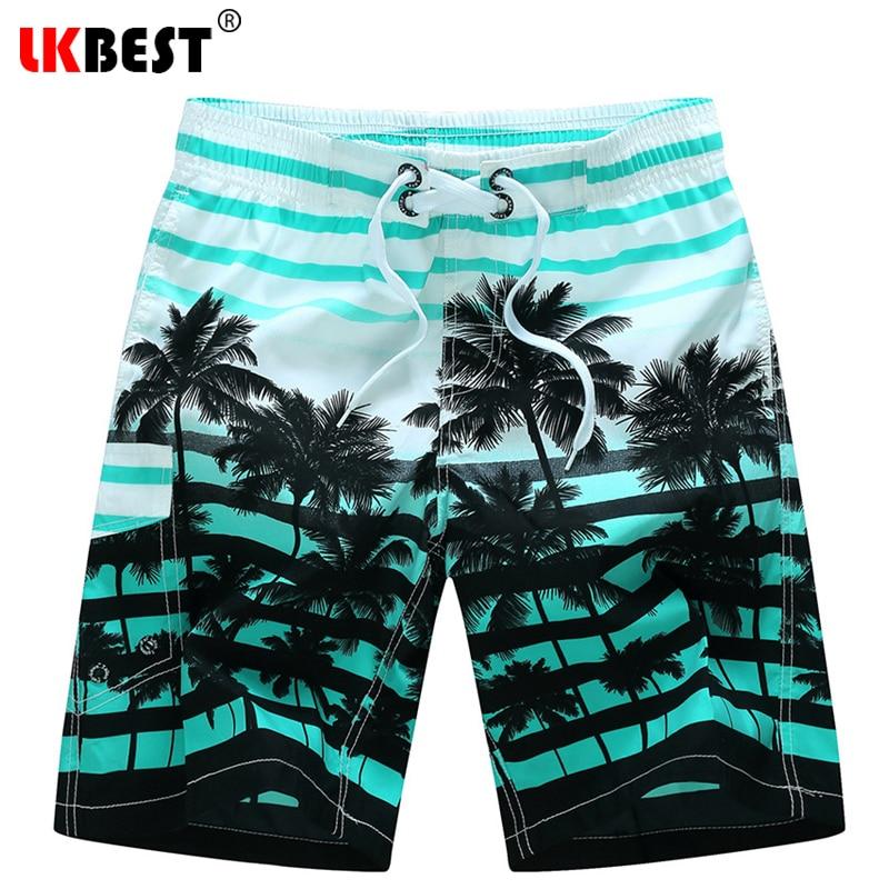LKBEST Sommer plus Größe M-6XL Mens Strand Shorts elastische Taille - Herrenbekleidung - Foto 3