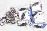 F05422 A platinum 30a pro 2 6 S 30A регулятор скорости ESC + 750KV бесщеточный дисковый двигатель высокой тяги с креплением