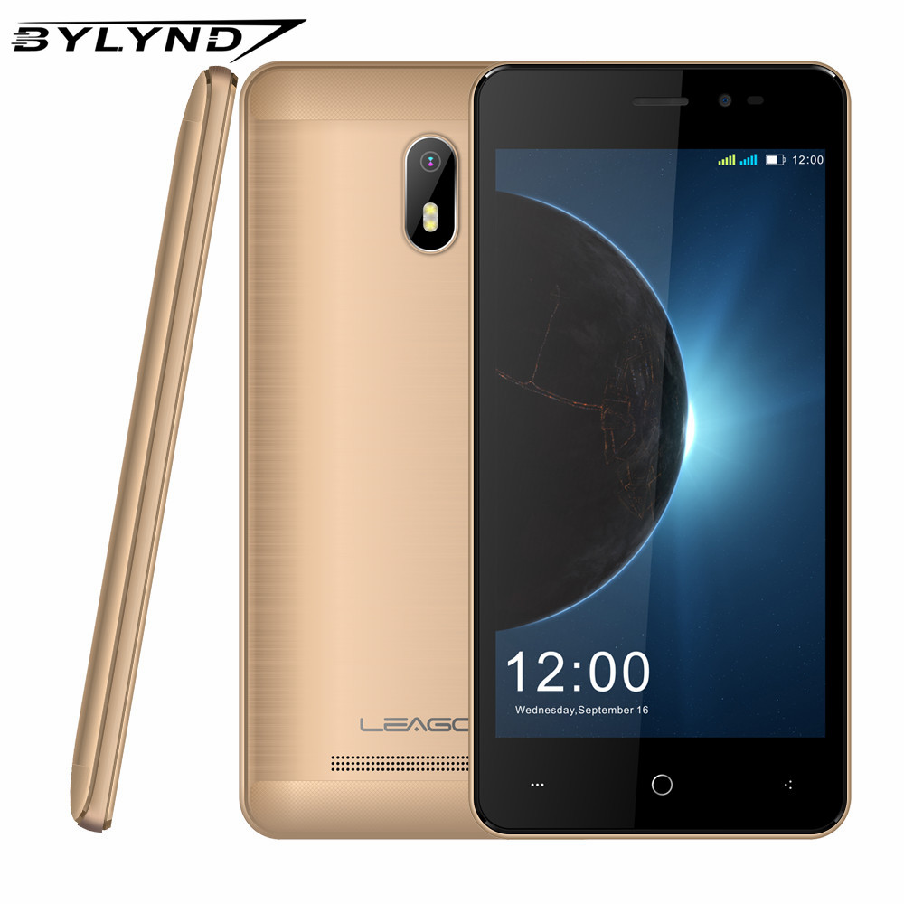 LEAGOO Z6 3G Smartphone 4 97 Display Android 6 0 MT6580M Quad Core 1 3GHz 1GB