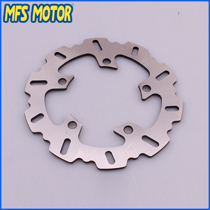 Rear Brake Discs Rotor For Yamaha YZFR1 2003-2013 YZFR6 2003-2012 Black Motorcycle Accessories mfs motor motorcycle part front rear brake discs rotor for yamaha yzf r6 2003 2004 2005 yzfr6 03 04 05 gold